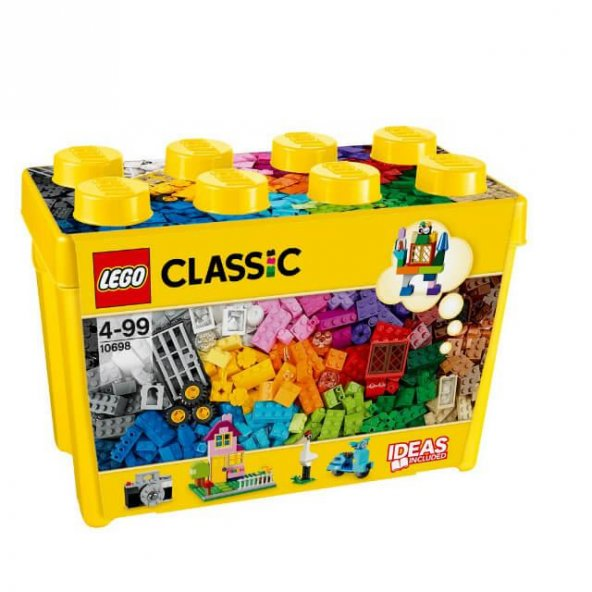 Lego Large Creative Brick Box 10698 Oyun Seti