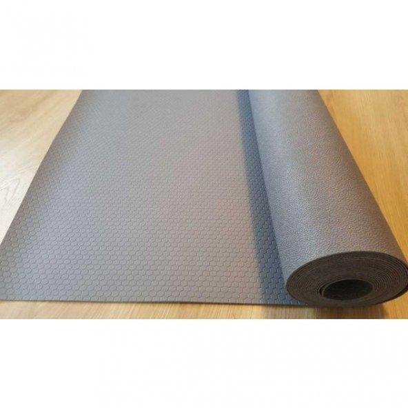 Karbonplast 5 mm Yalıtkan Paspas Gri 1000 x 100 cm ( Boy x En )