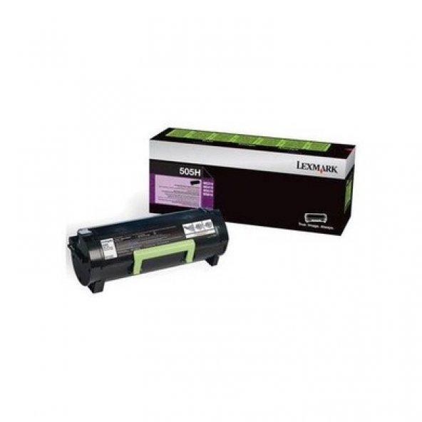 Lexmark 505H 50F5H00 Siyah Toner Ms310 / Ms410 / Ms510 / Ms610