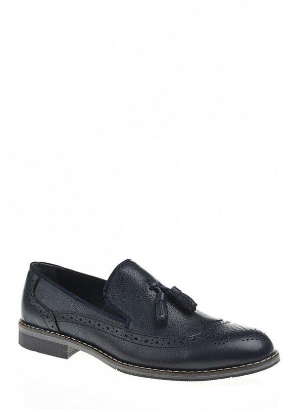 172023Lacivert Bay Klasik Ayakkabı