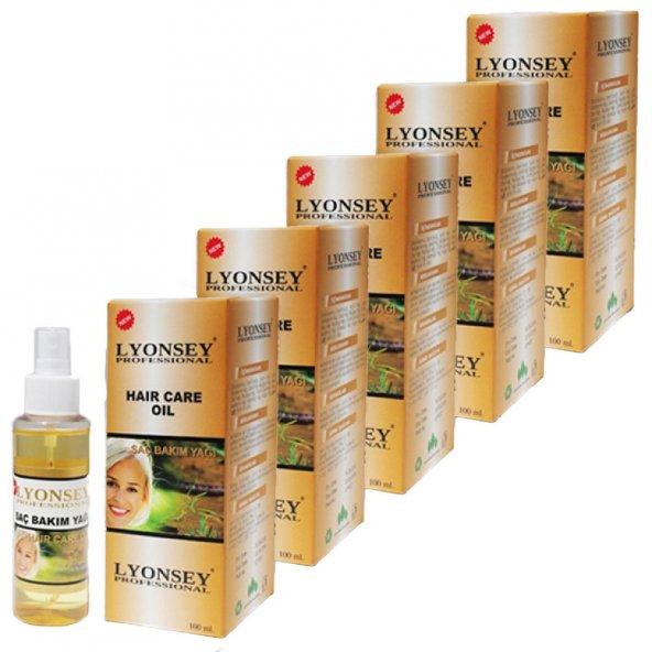 Hair Care Oil Saç Bakım Yağı 100 ml 5li