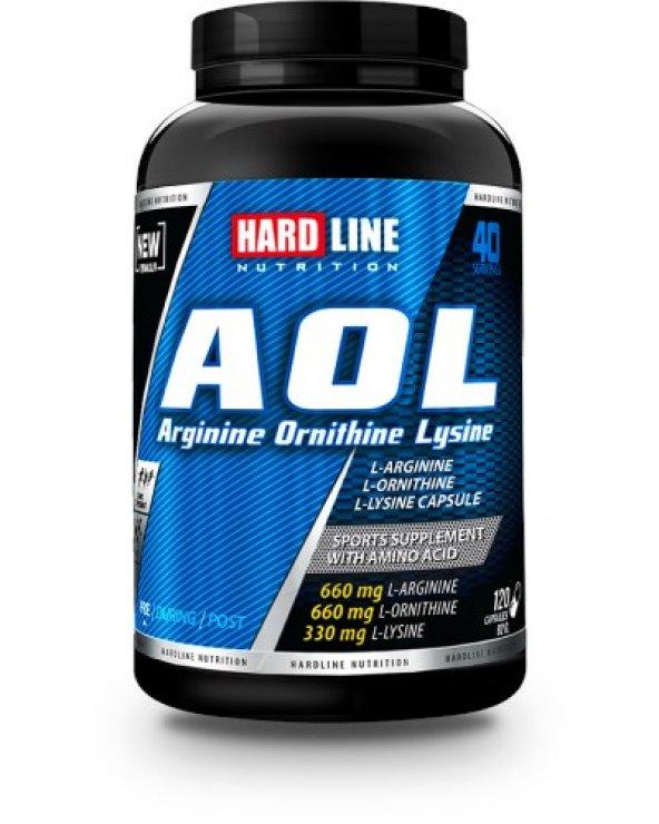 Hardline AOL 120 Kapsül SKT: 05/01/2021