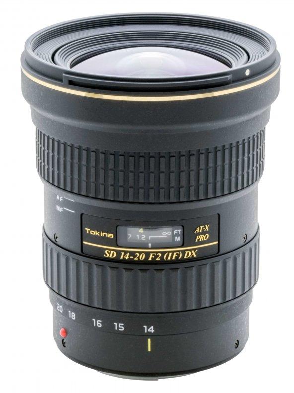 Tokina AT-X 14-20mm F2.0 PRO DX Lens - Canon Uyumlu