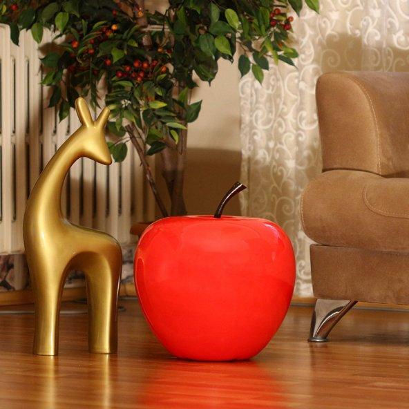 Kırmızı Dekoratif Elma ( Orta Boy )