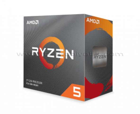 AMD Ryzen™ 5 3600 3.6GHz (Turbo 4.2GHz) 6 Core 12 Threads 35MB Cache AM4 İşlemci(WraithStealthSoğutuculu)