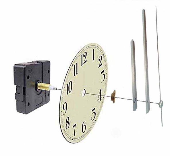 Aypaş, Akar Sessiz Saat Motoru ve Mekanizması (set)