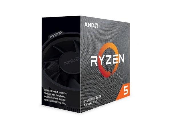 AMD Ryzen™ 5 3600X 3.8GHz (Turbo 4.4GHz) 6 Core 12 Threads 35MB Cache AM4 İşlemci (Wraith Spire Soğutuculu)