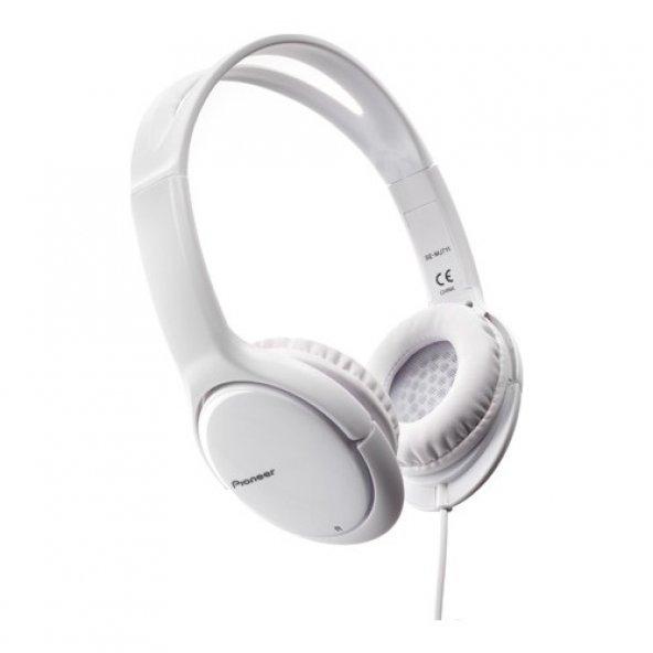 Pioneer SE-MJ711-W Kulaküstü Kulaklık