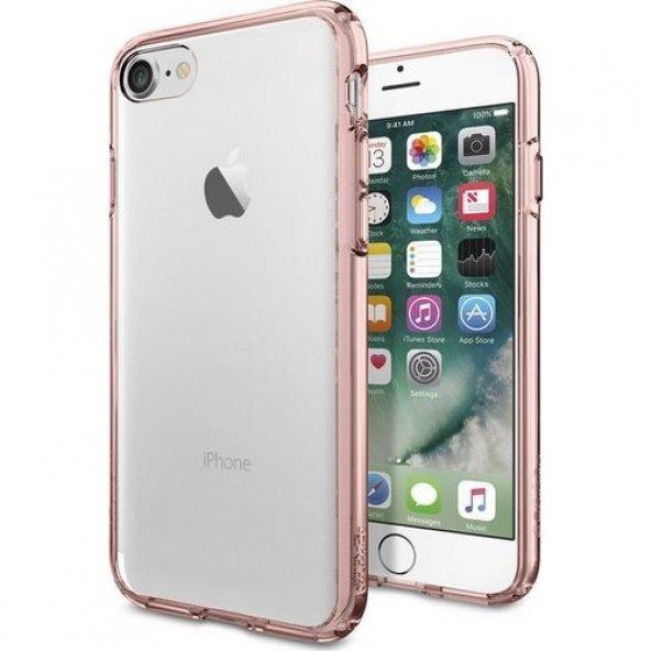 Spigen Apple iPhone 7 Kılıf Ultra Hybrid Rose Crystal - 042CS2044