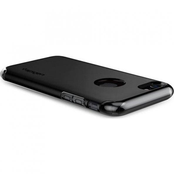 Spigen Apple iPhone 7 Kılıf Hybrid Armor Black 042CS20841
