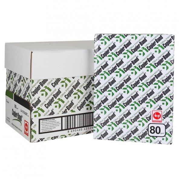 Copier Bond A4 80 gr 500 Yaprak Fotokopi Kağıdı