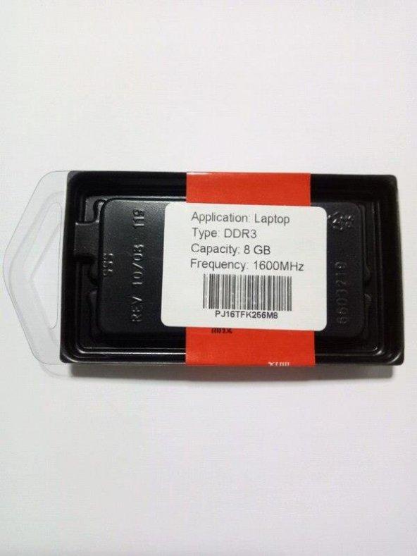 Puskill 8Gb Ddr3 1600 Mhz 1.50v Notebook Ram - PUS8G1600150-NB