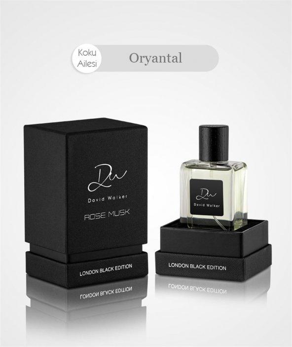 David Walker LBE ROSE MUSK 50ML Erkek Parfüm