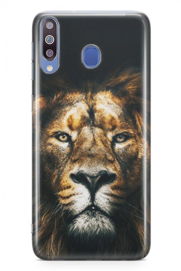 Samsung Galaxy M30 Kılıf Silikon Arka Kapak Koruyucu Best Lion De