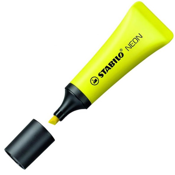 Neon Fosforlu Kalem - Stabilo Sarı