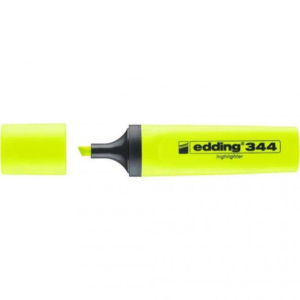 Edding 344 Fosforlu Kalem 1 Adet, Sarı AYNI GÜN ÜCRETSİZ KARGO