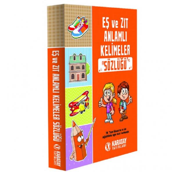 Karatay Eş ve Zıt Anlamlı Kelimeler Sözlüğü, 2019 Basım