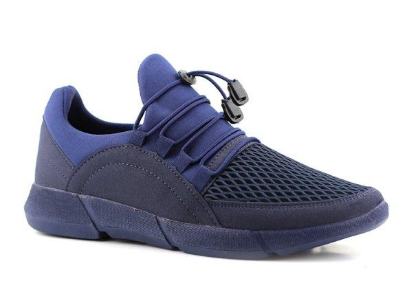 G-Class Erkek Spor Ayakkabı Lacivert - İnce Bağcık