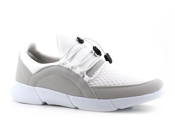 G-Class Erkek Spor Ayakkabı Beyaz - İnce Bağcık