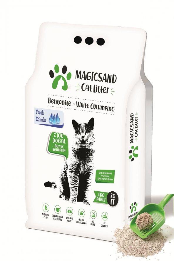 Magicsand Cat Litter Fresh kokulu Kedi Kumu 20 lt