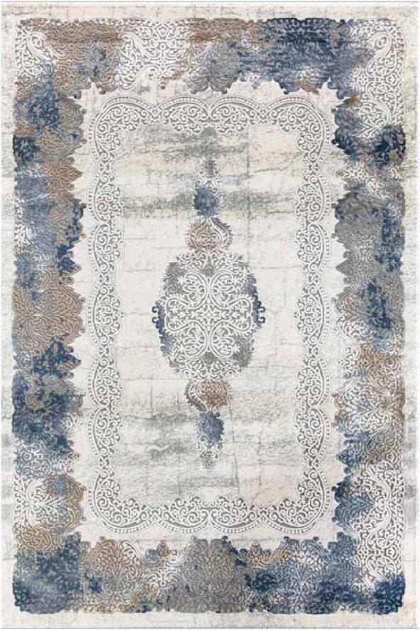 Flora Aydora 1780Am Mavi Renk Halı