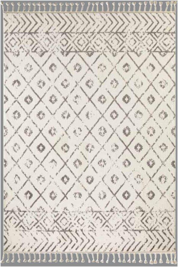 Flora Otantik 2593Aby Beyaz Renk Halı