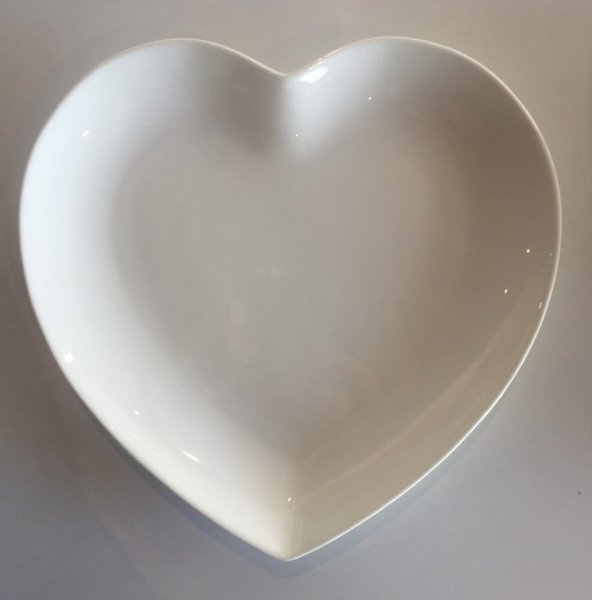 Karaca Carmen Porselen Kalp Tabak 21 cm (2 Adet)