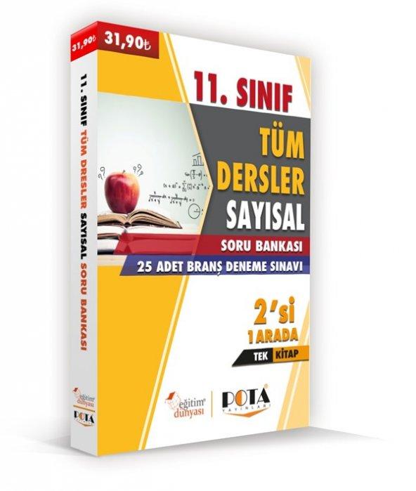 Pota yayınları 11. Sınıf Sayısal Tüm Dersler Soru Bankası
