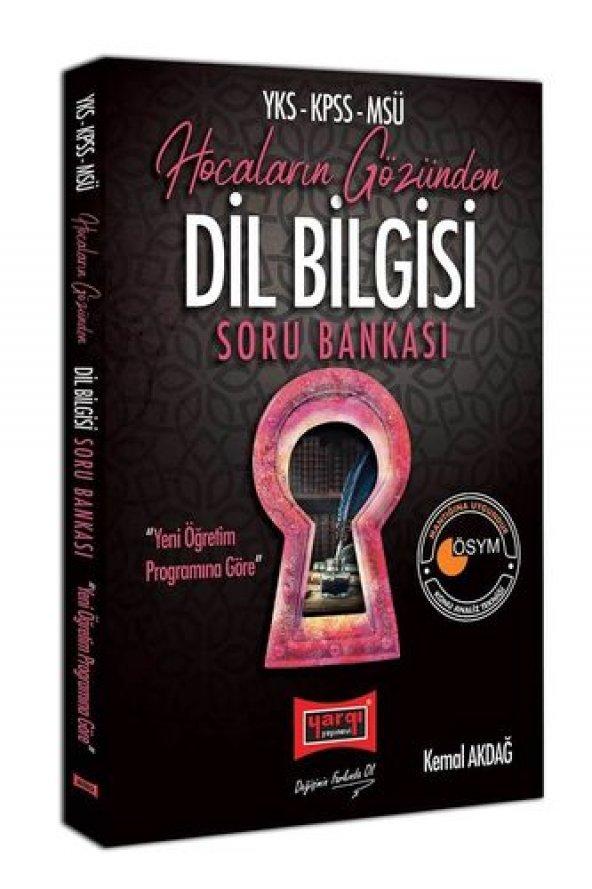 Yargı YKS-KPSS-MSÜ Hocaların Gözünden Dil Bilgisi Soru Bankası