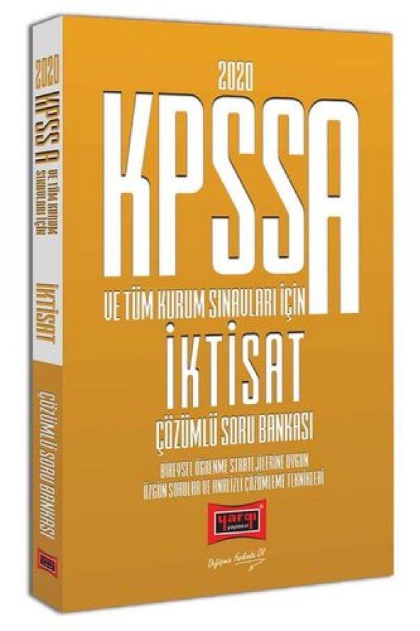 Yargı Yayınları 2020 KPSS A Grubu İktisat Çözümlü Soru Bankası