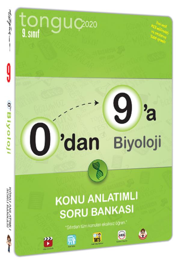 Tonguç Akademi 0 dan 9 a Biyoloji Konu Anlatımlı Soru Bankası