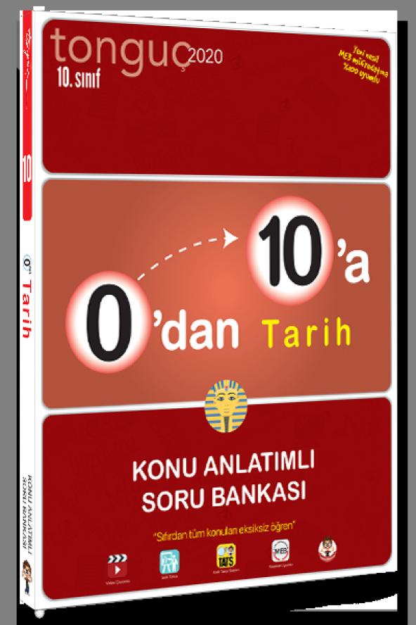 Tonguç Akademi 0 dan 10 a Tarih Konu Anlatımlı Soru Bankası