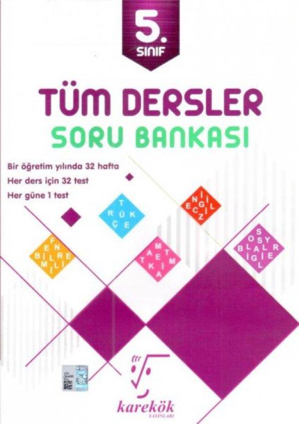 Karekök Yayınları 5. Sınıf Tüm Dersler Soru Bankası