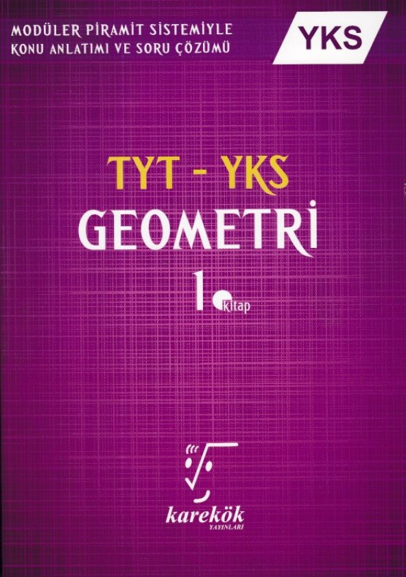 Karekök Yayınları TYT YKS Geometri 1