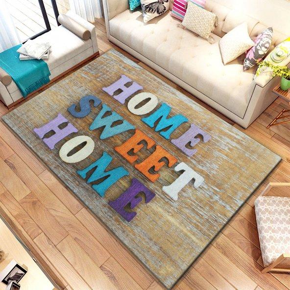 Halımax İnda PVC Deri Taban Ebat Seçenekli 482 Sweet Home