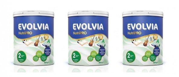 Evolvia NutriPro 2 Devam Sütü 800gr 3 Adet
