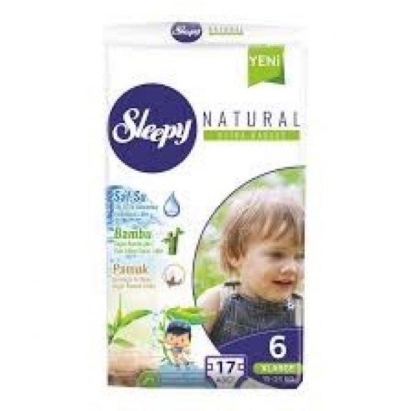 Sleepy  6 Numara X Large 17li Çocuk Bezi 17*5   85 adet