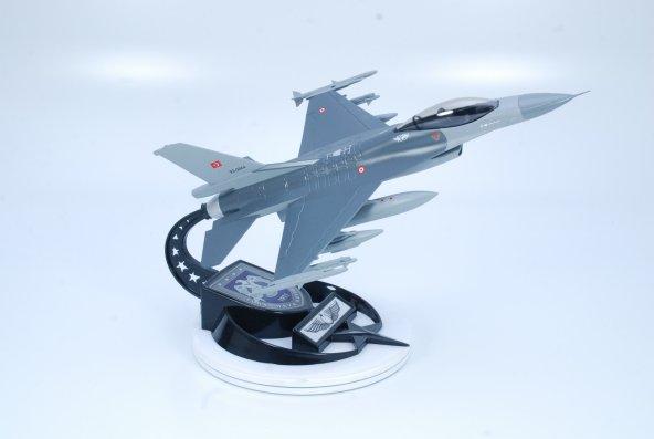 AKINCILAR FİLO MAKET UÇAK F-16C 1:48 Ölçek(B:30cm-K:20cm)