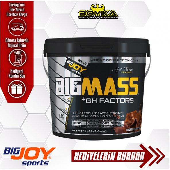 BIGJOY BIGMASS GAINER GH+ 5KG +3 HEDİYE