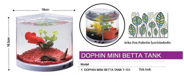 Dophin Mini Betta Tank Betalık