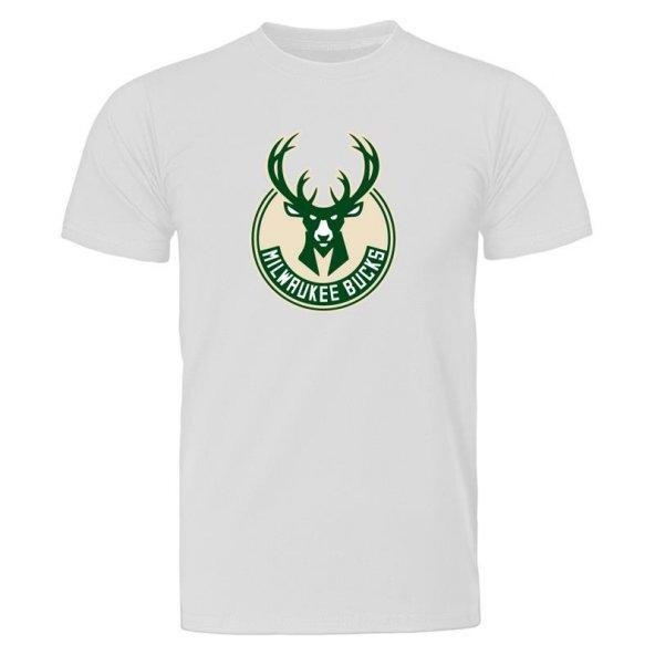 All-Star Milwaukee Bucks Beyaz Tişört