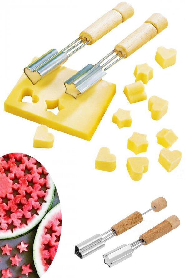 2li Meyve Ve Peynir Şekillendirici