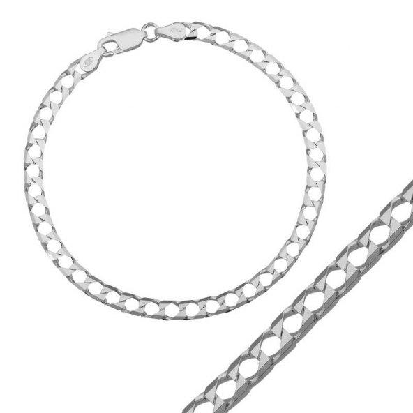 Gümüş Gurmet Zincir Bileklik