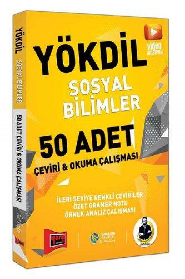 Yargı Yayınları YÖKDİL Sosyal Bilimler 50 Adet Çeviri ve Okul Çal