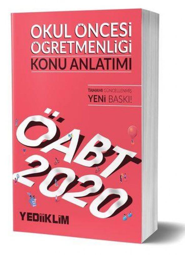 Yediiklim Yayınları 2020 Kpss Öabt Okul Öncesi Öğretmenliği Konu