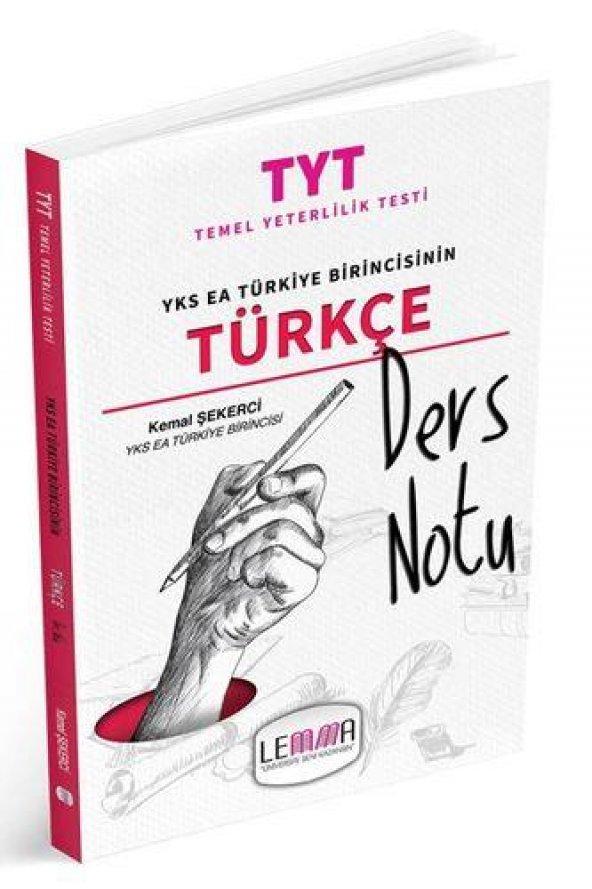 LEMMA Yayınları 2020 TYT Türkçe Ders Notu
