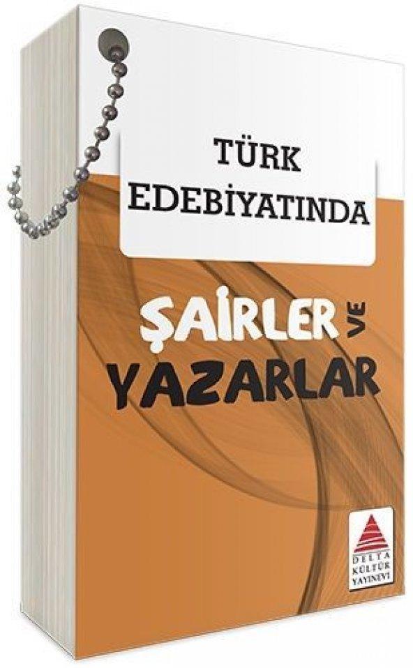 delta Türk Edebiyatında Şairler ve Yazarlar Kartları