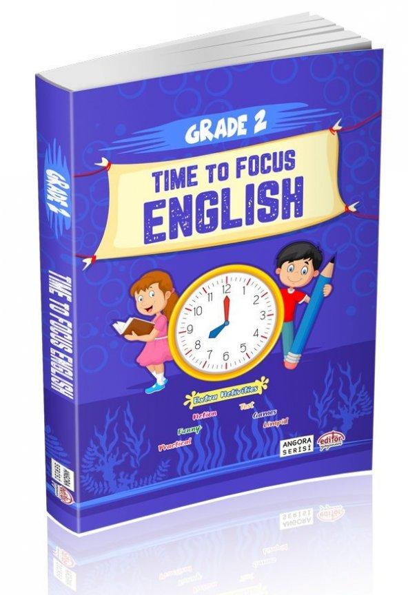 Editör Yayınları 2. Sınıf Time To Focus English