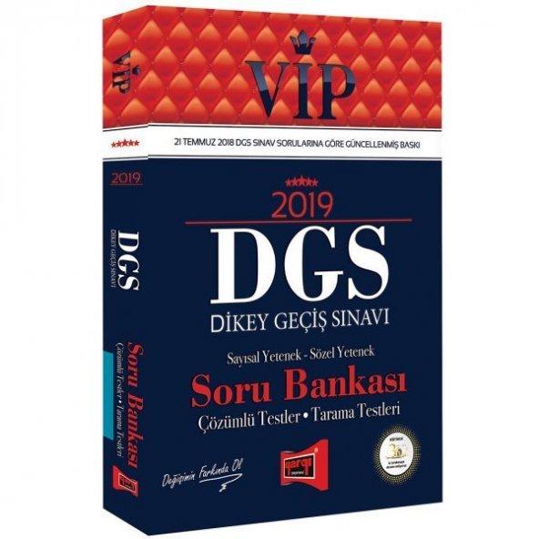 Yargı Yayınları 2019 DGS VIP Sayısal - Sözel Yetenek Soru Bankası
