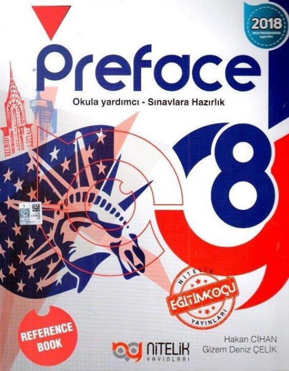 Nitelik Yayınları 8. Sınıf Preface Reference Book